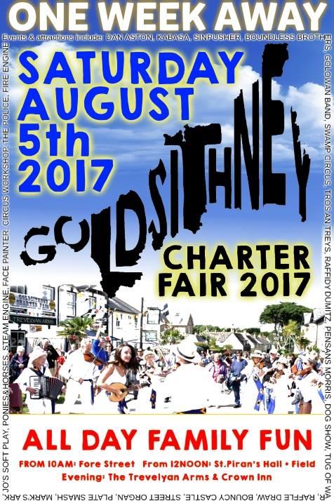 goldsithney charter fair poster
